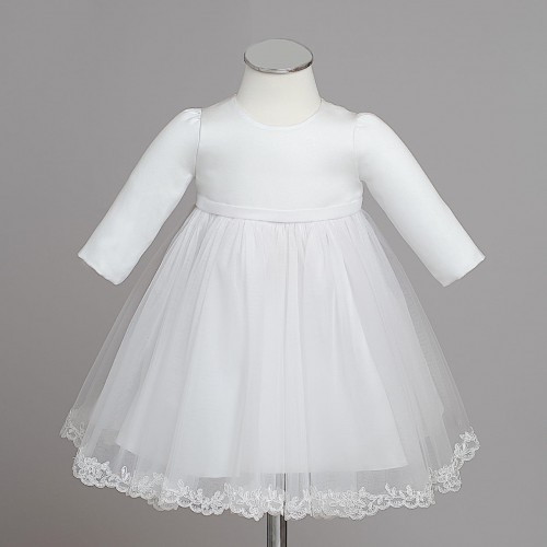ba816d1363 DOBROMIŁA sukienka wizytowa do chrztu dla dziewczynki Świat sukienek ...
