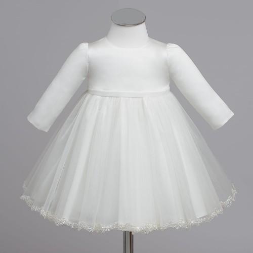 a472c69513 KLARA sukienka wizytowa do chrztu dla dziewczynki Świat sukienek ...